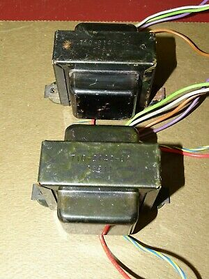 Pair, Audio Output Transformers from DuKane Line Monitor Amplifiers