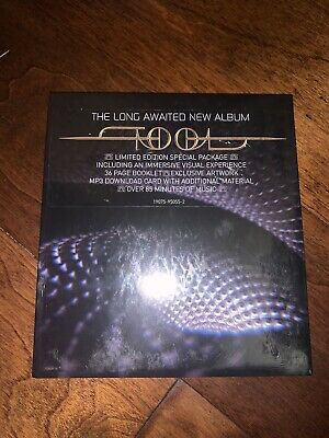 TOOL FEAR INOCULUM Limited Edition Trifold CD HD Screen Deluxe 2019 IN HAND NEW