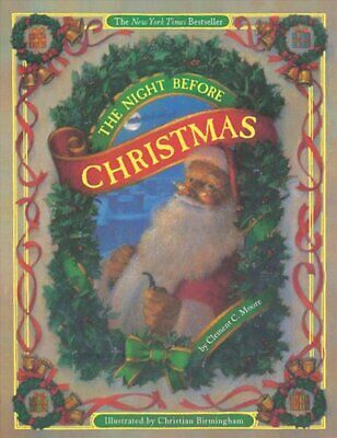 The Night Before Christmas (board book) by Clement Moore (Paperback, 2007)