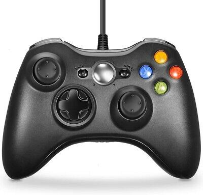 Wired USB Gamepad Controller Joystick Joypad For PC Windows
