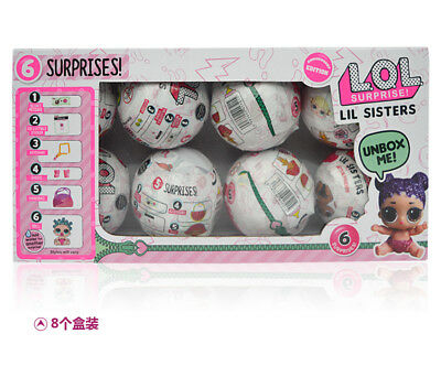 NEW LOL UK surprise LIL sisters' eye series ball doll big sister girl /Tot serie