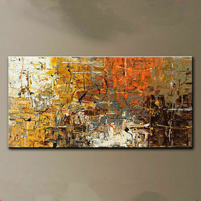Large Modern Wall Decor Abstract art oil painting Hand-painted On canvas unframe