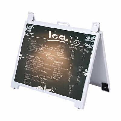 Double Side A Frame Sign Display Sandwich Board Advertising Poster Stand Holder