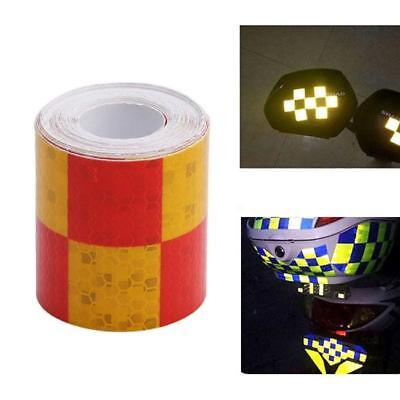 Conspicuity Tape Safety Warning Reflective Adhesive Sticker Car Supplies KS