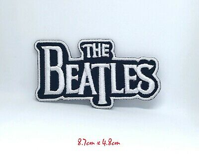 The Beatles Heavy Metal Rockabilia Music band Iron-on Embroidered Patch T-Shirt