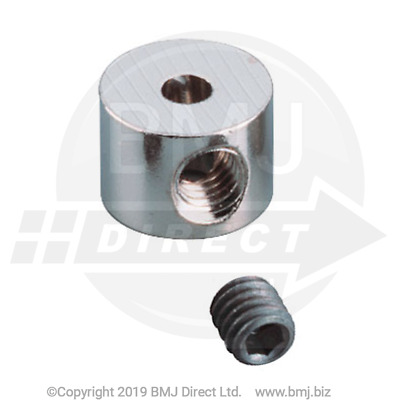 High Quality Shaft Collars With Grub Screws - Pack of 2 (VAT Invoice Included.)