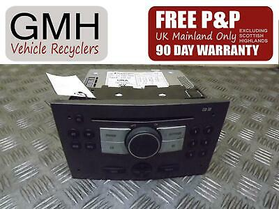 Vauxhall Astra MK5 Radio Stereo Cd Player Head Unit Without Code 2004-2011♫