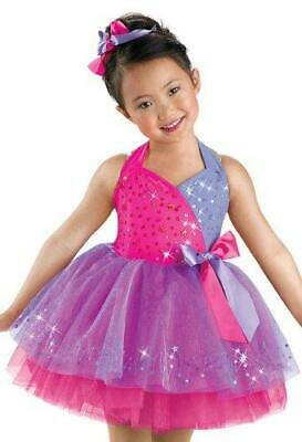 Weissman You to Know Dancing Costume Dress 5570 Violet
