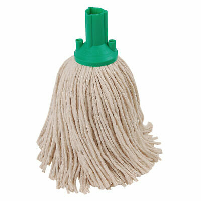 NEW! Exel 250g Mop Head Green Pack of 10 102268GN