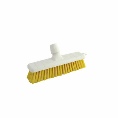 NEW! Soft Broom Head 30cm Yellow Designed for Universal Handle P04050