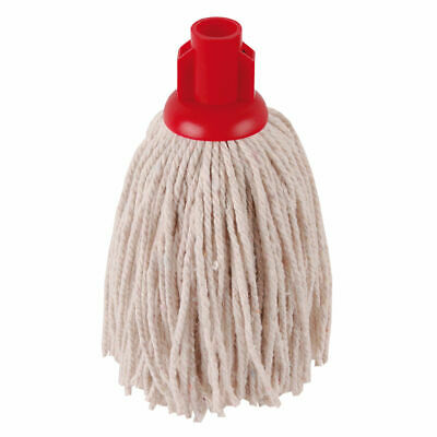 NEW! 2Work PY Smooth Socket Mop 12oz Red Pack of 10 101869R