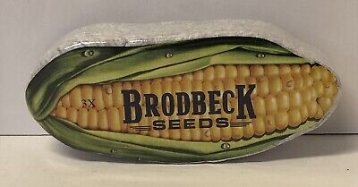 Brodbeck Seeds Corn Seed Gray 3XL T-shirt New In Package - Closed Seed Company