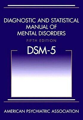 DSM-5 Diagnostic and Statistical Manual of Mental Disorders 5th ed. by APA, NEW