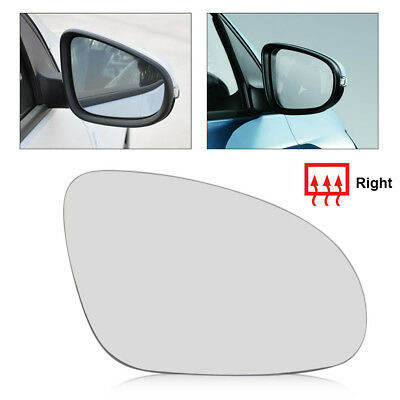 Right Driver Side Wing Mirror Glass Backing Plate HEATED Corsa D 2006-2013