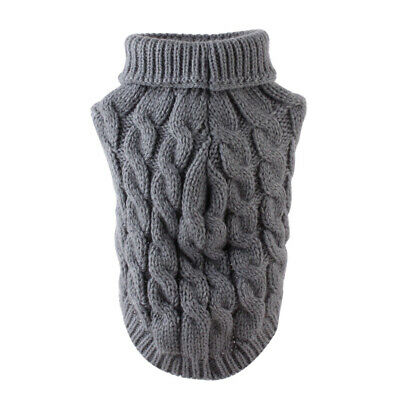 Fashion Knitted Puppy Dog Jumper Sweater Pet Clothes For Small Dogs Cat Coat#IN9