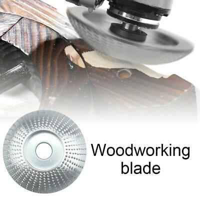 Wooden Polishing Grinding Wheel Angle Grinder Disc Carving Abrasive Rotary Tool