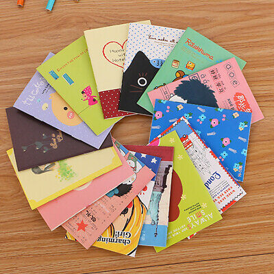 Mini Cute Journal Diary Pocket Notebook Memo Lovely Stationery 40 Page