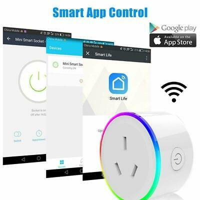 WiFi Smart Plug Power Switch Outlet Smart Home Wireless Socket for Phone App Ag
