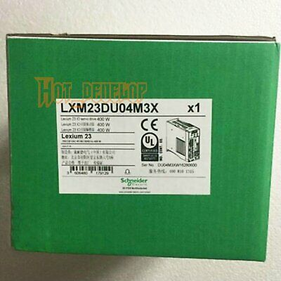New 1PC For Schneider servo drive LXM23DU04M3X Free Shipping