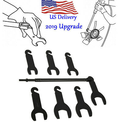 2019 Upgrade 43300 Pneumatic Fan Clutch Wrench Set for Ford / GM / Chrysler/Jeep