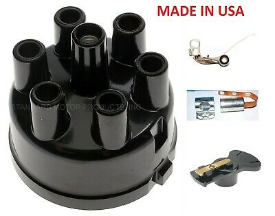 DODGE PLYMOUTH CHRYSLER DISTRIBUTOR CAP POINTS//ROTOR//CONDENSER 273 318 383 440