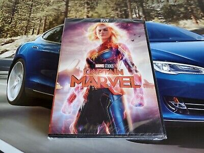 Captain Marvel (DVD, 2019) Free Shipping USA!