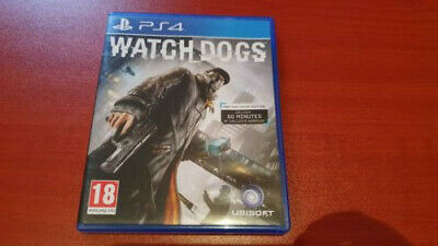 Watch Dogs Video Game for Sony PlayStation 4 (PS4) Exclusive Edition