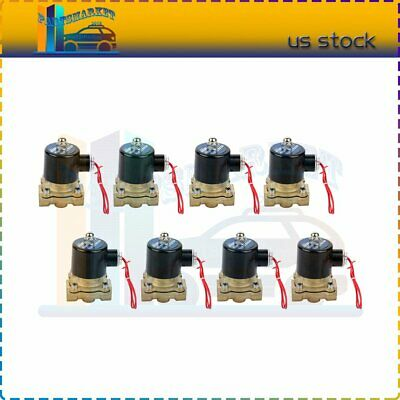 """9 Brass air suspension valve 3//8/"""" npt port electric solenoid 125psi 9th is FREE"""