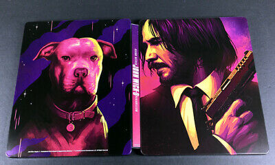 John Wick Chapter 3 Parabellum Steelbook Case 00728 of 15000 + Digital