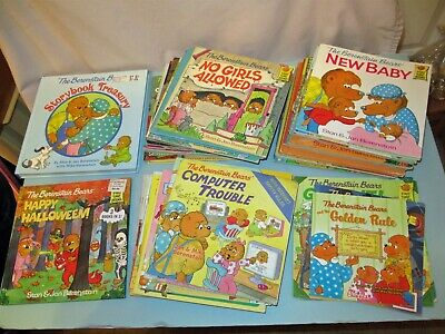 PB HC Lot 50 The Berenstain Bears Jan Stan First Time Books Kids Picture