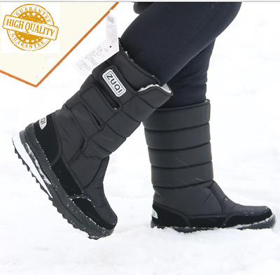 Men's Insulated Winter Snow Boots Shoes Warm Lined Thermolite Waterproof 1002 US