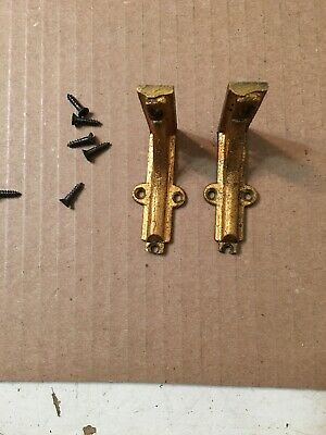 Antique Waterbury Westminster Chime Clock Movement Mounting Brackets