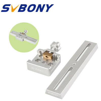 SVBONY 210mm Dovetail Mounting Plate+Middle-Sizes Dovetail Clamp For Telescopes