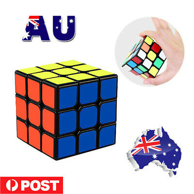 Sydney Stock Magic Cube 3x3x3 Super Smooth Fast Speed Puzzle Rubix Rubics Toy AU