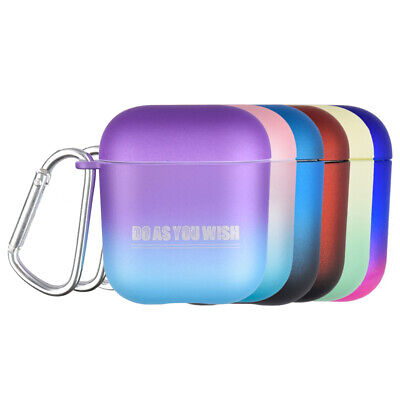 Gradient Silicone Case for Apple Airpods 1 2 Protector Cover Earphone Shell UK