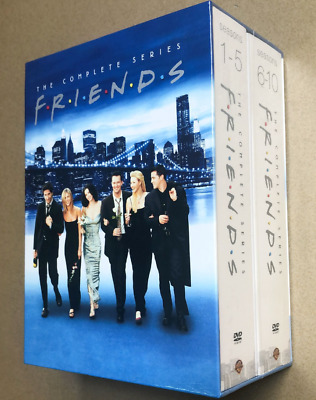 New & Sealed! TV Friends: the Complete Series DVD Set Seasons 1-10