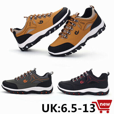 Mens Casual Walking Trainers Hiking Sports Gym Fitness Driving Shoes Size