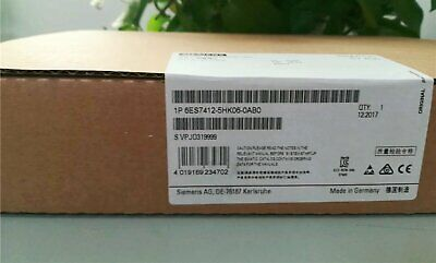New In Box Siemens 6ES7412-5HK06-0AB0 6ES7 412-5HK06-0AB0 One year warranty #XR
