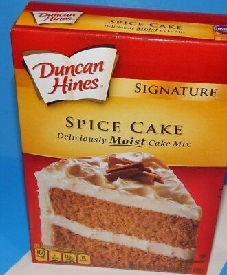 New Duncan Hines Spice Cake Mix Moist Party Supply