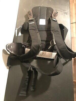 L3 Baby Bjorn Baby Infant Front Back Carrier Black WE Cotton Multi Positions