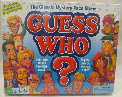 NEW Guess Who Classic Mystery Face Game Milton Bradley 2015 Version RARE