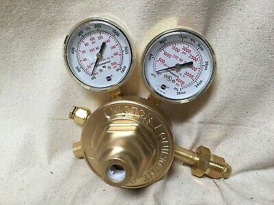 VICTOR 0781-0528 Inert Gas Regulator CGA-580 Single Stage Brass 5 to 125 psi