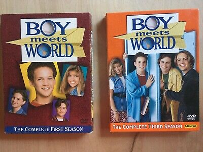 Boy Meets World - The Complete First (1st) AND 3RD Season (DVD, 3-Disc Set) USED