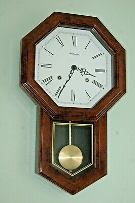 Antique Reproduction Wall Clock. Free P & P U.k.