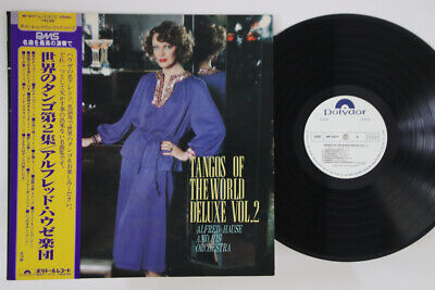 LP Alfred Hause Tango Of The World Deluxe Vol.2 MP3077 POLYDOR Japan OBI PROMO