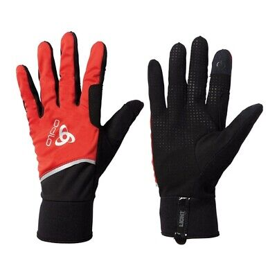 ODLO Windproof Light Gloves W Fiery Red/Black 761040 38601/