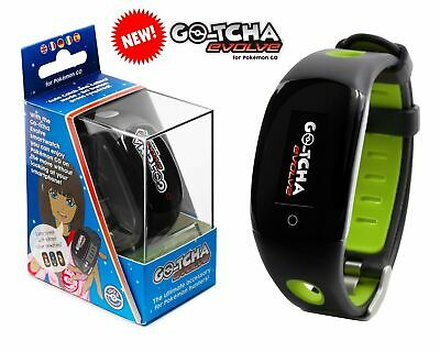 Datel Gotcha Go-Tcha evolve Wristband For iPhone Android POKÉMON GO - Green
