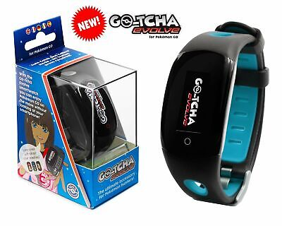 Datel Gotcha Go-Tcha evolve Wristband For iPhone Android POKÉMON GO - Blue