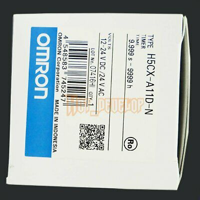 Omron New 1PC H5CX-A11D-N Digital Timer H5CXA11DN 12-24VDC Free Shipping