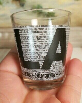 Los Angels Shot Glass Collectible Suvenir Gift